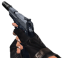 Weapons with suppressors