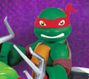 Half-Shell Heroes Raph with Minibike (2014 action figure)