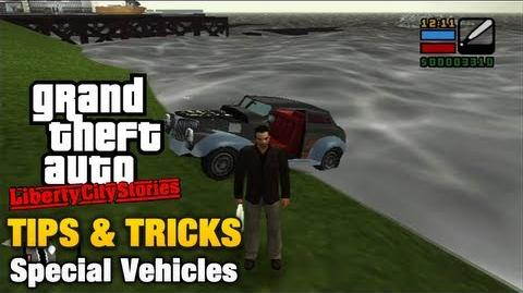 Special Vehicles in GTA Liberty City Stories