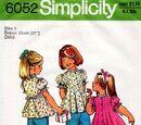 Simplicity 6052