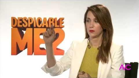 Kristen Wiig on 'Despicable Me 2,' 'Arrested Development,' AND 'Anchorman'