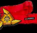 851338 Ceinture et étoile à lancer Ninja