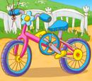 Велосипед Нюши