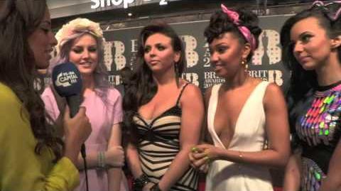 BRIT Awards 2013 Little Mix Red Carpet Interview