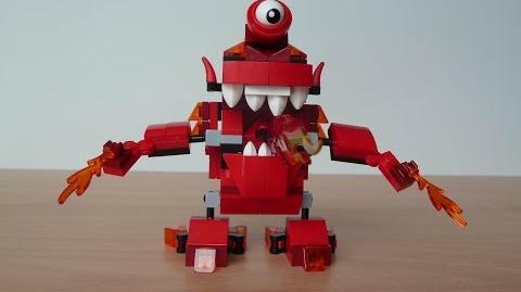 LEGO MIXELS INFERNITES MAX Mixels Serie 4 Lego 41530 Meltus Lego 41531 Flamzer Lego 41532 Burnard