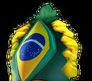 Brazilian Warrior Mask