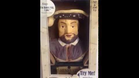Henry VIII Singing Bust