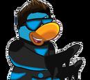 Personajes que no son pingüinos