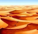 Desvío en el Desierto