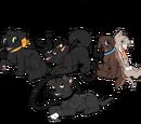 Mud and dirt never hurt anyone: AuroraXShadow pups
