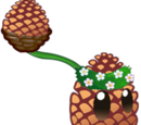 Pinecone-pult
