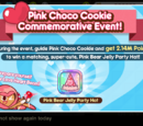 Pink Choco Cookie Commemorative Event