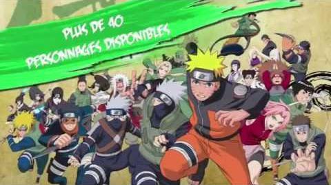Naruto Shippuden Ultimate Ninja Heroes 3 - Trailer - PSP