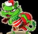 Thief Green Cat