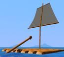 Sailing Raft