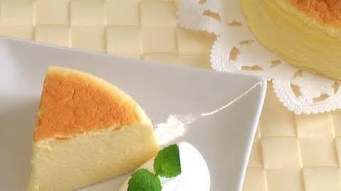 【スイーツレシピ】スフレチーズケーキ japanese cheesecake