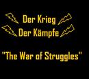 Der Krieg Der Kämpfe