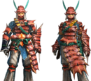 Kut-Ku Armor (Gunner) (MH4U)