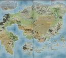 Dragon Ball žemėlapis
