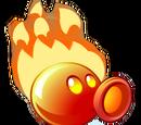 Feuer-Erbsenkanone