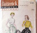 Butterick 6340 A