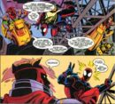 Peter Parker (Earth-751263) and Lord Tyger (Counter-Earth) (Earth-751263) from Spider-Man Unlimited Vol 2 1 001.jpg
