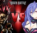 Akuma VS Iris Heart