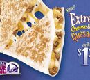 Extreme Cheese and Beef Quesadilla