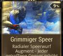Grimmiger Speer
