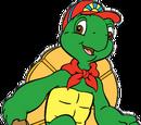 Franklin the Turtle kaleidoscope