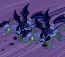 Bat Ponies vs Vampire Ponies