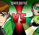 Ben 10 vs Hal Jordan