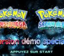 Pokémon Rubis Oméga et Saphir Alpha : Version démo spéciale