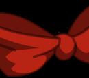 Nœud papillon rouge