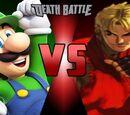Luigi vs Ken Masters
