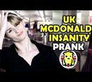 UK McDonalds Insanity Prank
