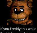 Dismantled Foxy The Pirate/Freddy Fazbear text