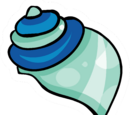 Seashell Pin