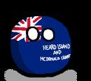 Heard Island and McDonald Islandsball
