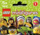 8803 Minifigures Série 3