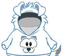 Cangurito del Puffle Perro Blanco