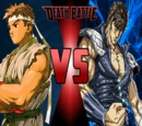 Fist of the North Star vs Street Fighter themed Death Battles