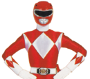 Red Mighty Morphin Ranger