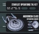 Memory Beta images (Andromeda class starships)