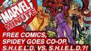 Free Comics, Spidey Goes Co-op, & S.H.I.E.L.D. vs. S.H.I.E.L.D.?! - Marvel Minute 2015