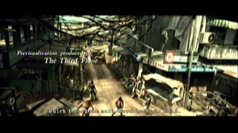 """Resident Evil 5 articles with empty """"cutscene plot"""" sections"""