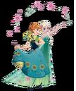 Anna and Elsa Frozen Fever 2D Render.png