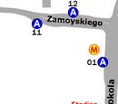 Zespół przystankowy Metro Stadion Narodowy