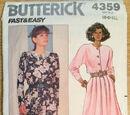 Butterick 4359 B