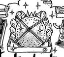 Silver Taraba Crab